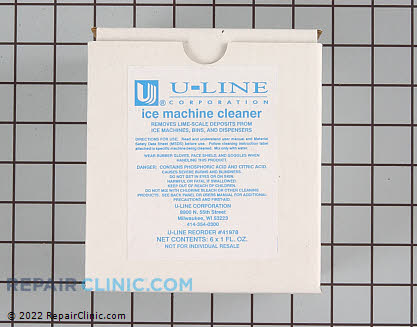 U-Line Ice Machine Ice Machine Cleaner