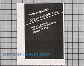Owner's Manual - Part # 949438 Mfg Part # 4B71264A