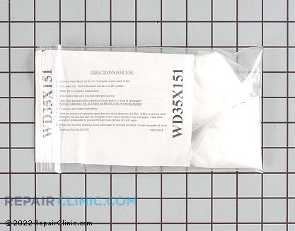 Dishwasher and Disposer Cleaner WD35X151        Main Product View