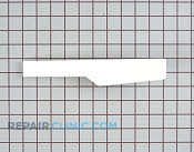 Endcap, backsplash (left hand) (white) - Part # 832029 Mfg Part # 9781884FW