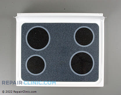 Glass Cooktop (OEM)  WB57K10055, 824297