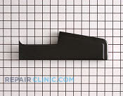 End cap (rt-blk) - Part # 713328 Mfg Part # 7726P060-60