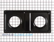 Burner Drip Pan - Part # 770211 Mfg Part # WB35K10001
