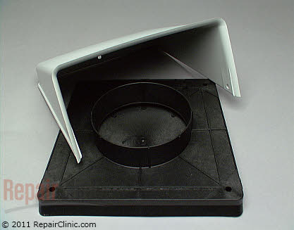 Wall Vent Cap for 5 Inch Duct (OEM)  A405