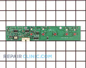 User Control and Display Board - Part # 1196719 Mfg Part # 241700104