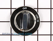 Control Knob - Part # 1244195 Mfg Part # Y07507301