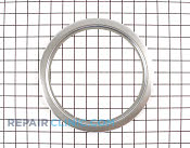 Trim ring, chrome (8``) - Part # 747735 Mfg Part # 9750504