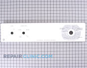 Control  Panel - Part # 275518 Mfg Part # WE19M1109