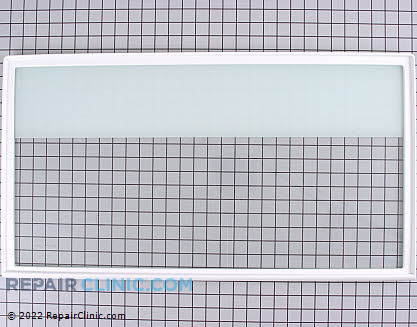 Glass Crisper Cover (OEM)  61002849