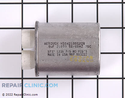 High Voltage Capacitor 59001650 Main Product View