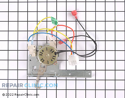 Door Lock Motor and Switch Assembly (OEM)  WB14T10008
