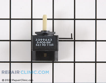 Whirlpool Selector Switch