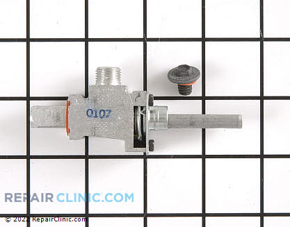 Surface Burner Valve (OEM)  WB21X5323 - $163.70