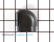 End cap, vent (lt-blk - Part # 704387 Mfg Part # 74004364