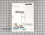 Manual, service-no refund - Part # 422484 Mfg Part # 16009127