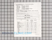Tech Sheet - Part # 219927 Mfg Part # RS2230003