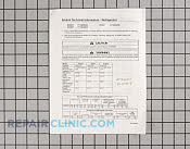Tech sheet - Part # 220043 Mfg Part # RT1300017