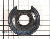 Burner Drip Pan - Part # 12774 Mfg Part # 318138501