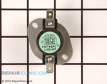 High Limit Thermostat (OEM)  56082