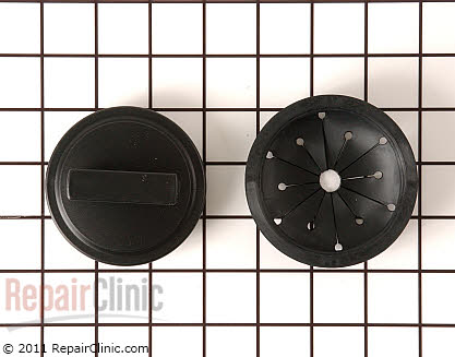 Westinghouse Garbage Disposer Splash Guard and Stopper