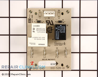 Kenmore Stove Relay Board