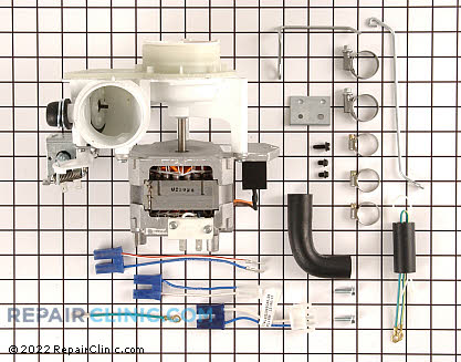 Ge Dishwasher Motor and Pump Kit