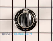 Control Knob - Part # 256850 Mfg Part # WB3X439