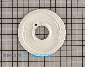 Spill tray, c burner-w - Part # 754821 Mfg Part # 26481WP