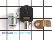 Coin Box Lock - Part # 1017309 Mfg Part # 4396668