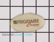 Label-nameplate,almond ,crown - Part # 439051 Mfg Part # 215008617