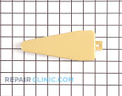 Cover, hinge (gold) - Part # 439188 Mfg Part # 2150342