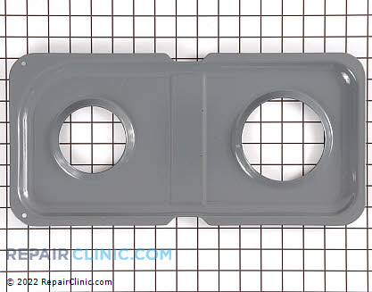 Burner Drip Pan (OEM)  WB34K10013