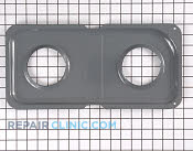 Burner Drip Pan - Part # 770197 Mfg Part # WB34K10014