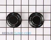 Control Knob Kit - Part # 403262 Mfg Part # 12200031