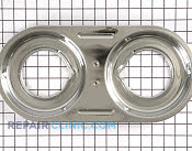 Burner Drip Pan - Part # 646135 Mfg Part # 540L004F02