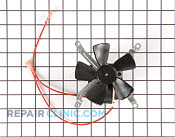 Evaporator Fan Motor - Part # 253916 Mfg Part # WB26K5048