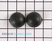 Ball, suspension (6) - Part # 3173 Mfg Part # 91073