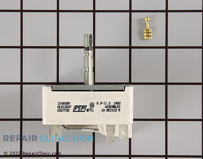 Caloric Oven Surface Element Switch
