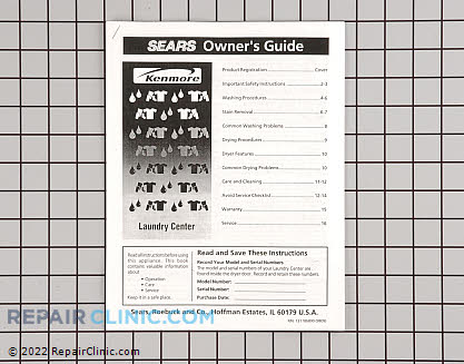 Washer/Dryer Combo Owner's Manuals