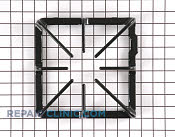 Grate (blk) - Part # 257866 Mfg Part # WB31K10019