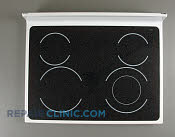 Glass Cooktop - Part # 1017782 Mfg Part # 8187889