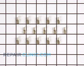Quarter Inch Female Terminal Ends - Part # 240986 Mfg Part # T1112