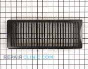 Grill air black - Part # 1086830 Mfg Part # WB32X10043