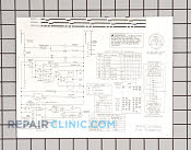 Wiring diagram - Part # 936478 Mfg Part # 131825700