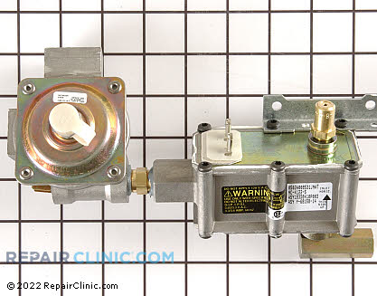 Oven Valve and Pressure Regulator (OEM)  WB19K10041