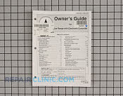 Owner's Manual - Part # 703181 Mfg Part # 74003059