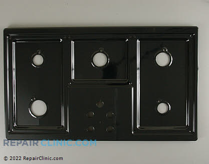 Metal Cooktop 36113BP Main Product View