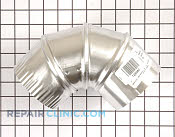4 Inch 90 Degree Vent - Part # 1268482 Mfg Part # DE904DEF