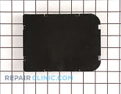 Plate cover black - Part # 269662 Mfg Part # WC36X5118