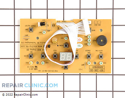 User Control and Display Board 309901601       Main Product View